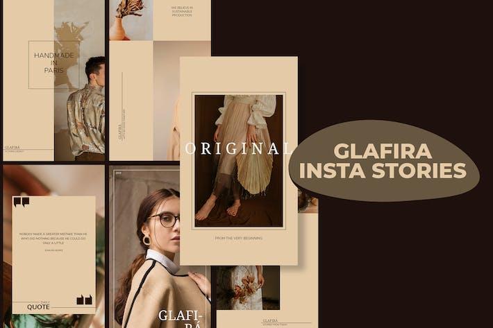 Glafira Insta Storys Vorlage