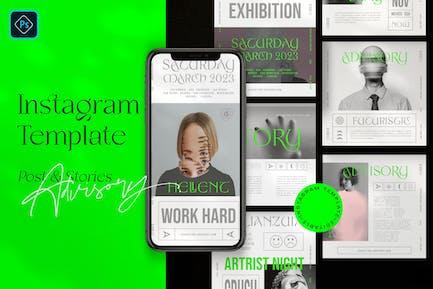 Advisory - Post & Story Instagram
