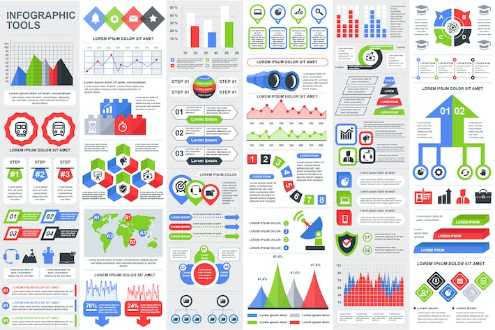 Thumbnail for Infographics Vector Design Template Info Graphics