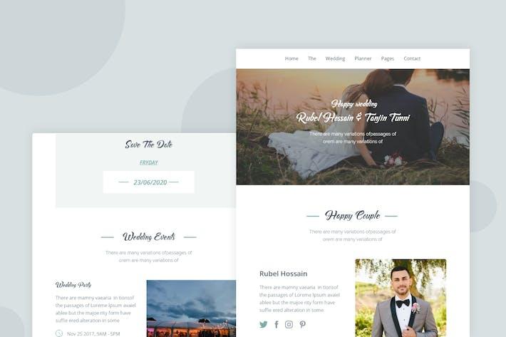 Thumbnail for Wedding - Email Newsletter