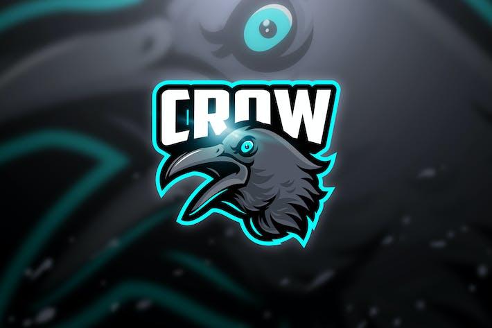 Thumbnail for Crow - Mascot & Esport Logo