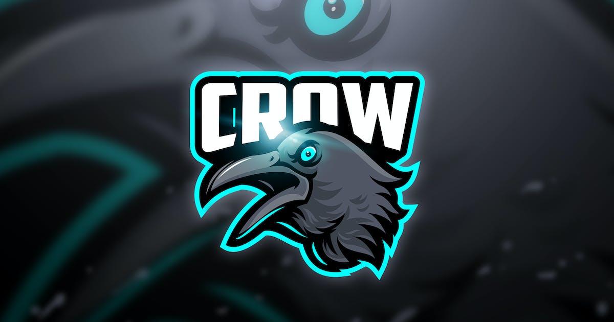 Download Crow - Mascot & Esport Logo by aqrstudio