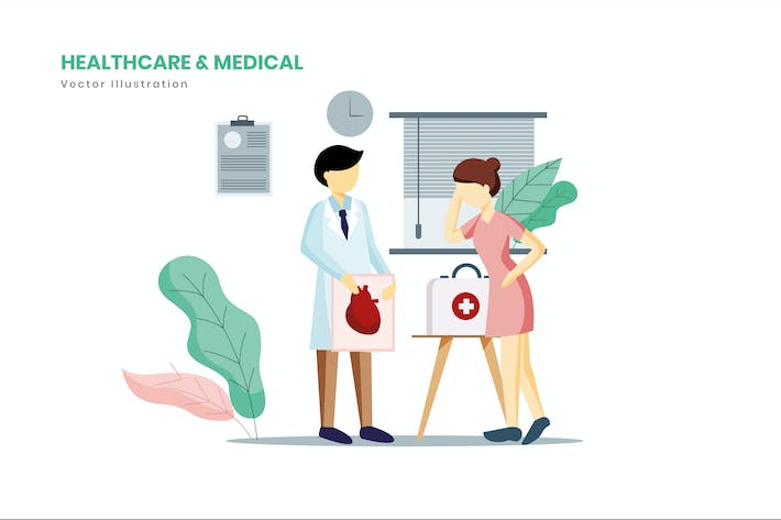 Thumbnail for Healthcare & Medical Illustration