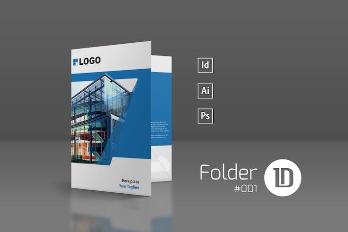 Cover Image For Presentation Folder Template 001