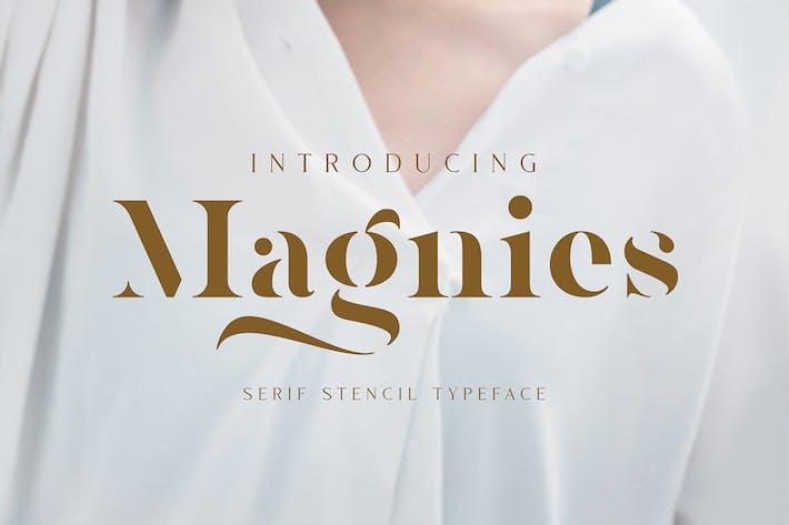 Magnies - Mínimo Con serifa