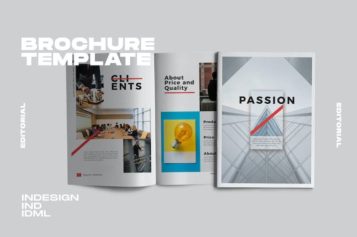 Thumbnail for Passion. - Brochure Minimal Business Company