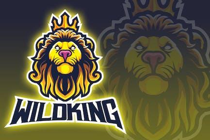 Wild King Esport Logo
