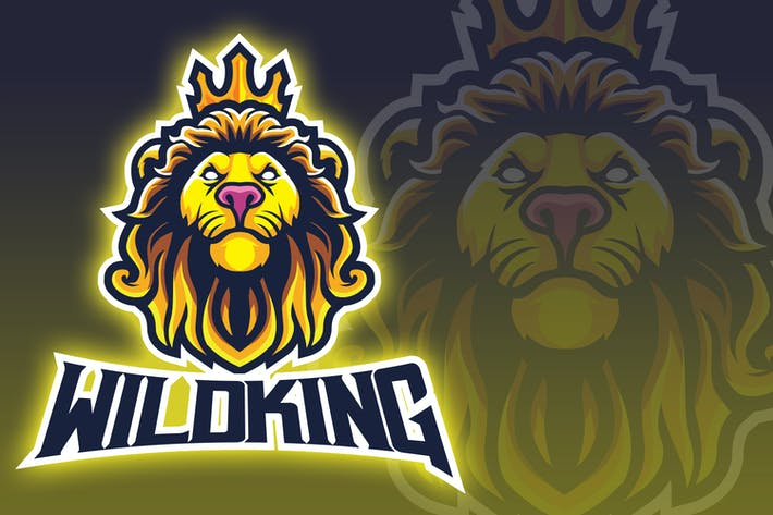 Thumbnail for Wild King Esport Logo