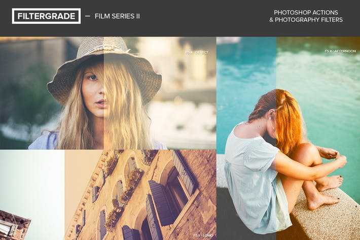 Cover Image For FilterGrade Film Series II Photoshop Actions