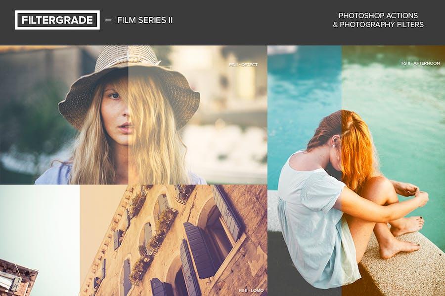 FilterGrade Film Series II Photoshop Actions