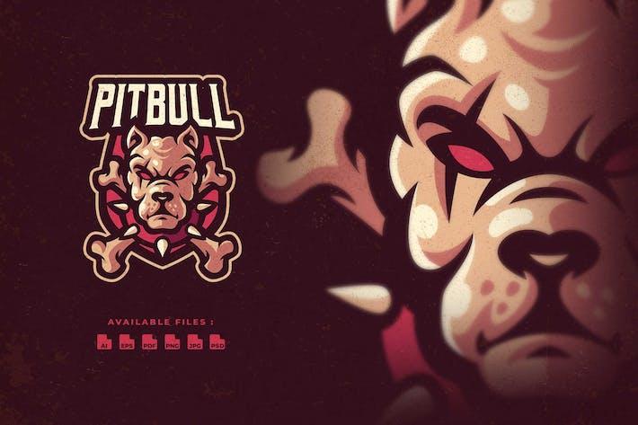 Thumbnail for Логотип киберспорта персонажа Питбулла