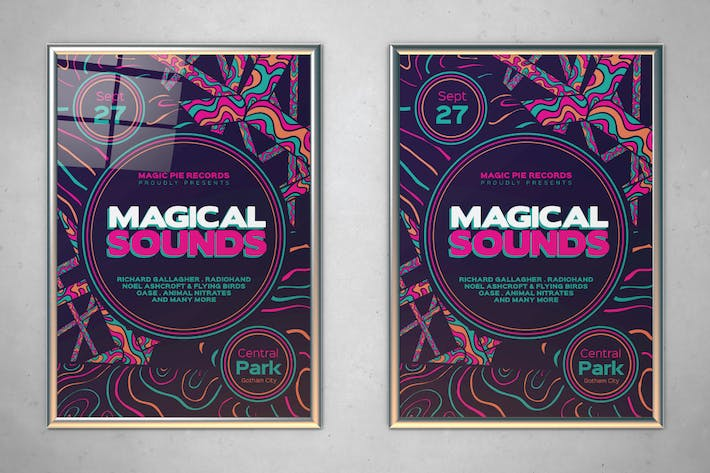 Thumbnail for Magical Sounds Flyer
