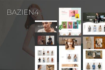 Bazien - Tema Elementor WooCommerce