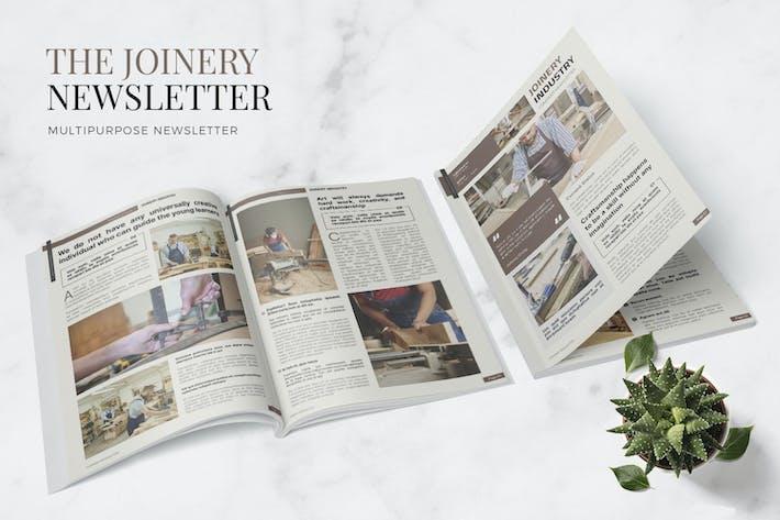 Thumbnail for Joinery Industry Newsletter