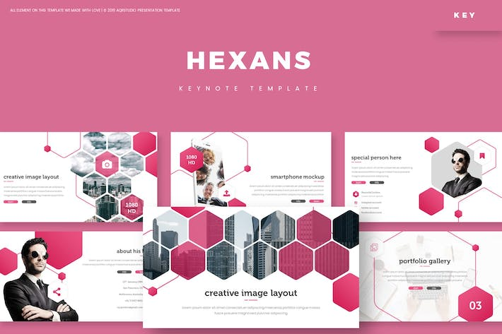 Cover Image For Hexans - Keynote Template