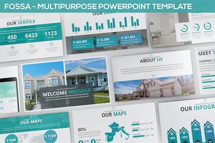 Fossa - Multipurpose Powerpoint Template