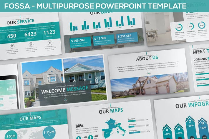 Thumbnail for Fossa - Multipurpose Powerpoint Template