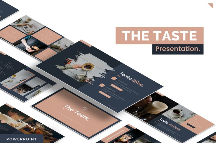 Thumbnail for The Taste - Powerpoint Template