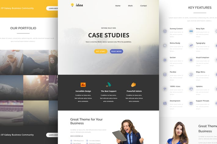 Cover Image For Idea - Responsive Email and Newsletter Template