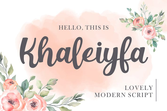 Thumbnail for Khaleiyfa - Lovely Script