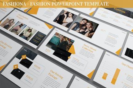 Fashiona - Fashion Powerpoint Template
