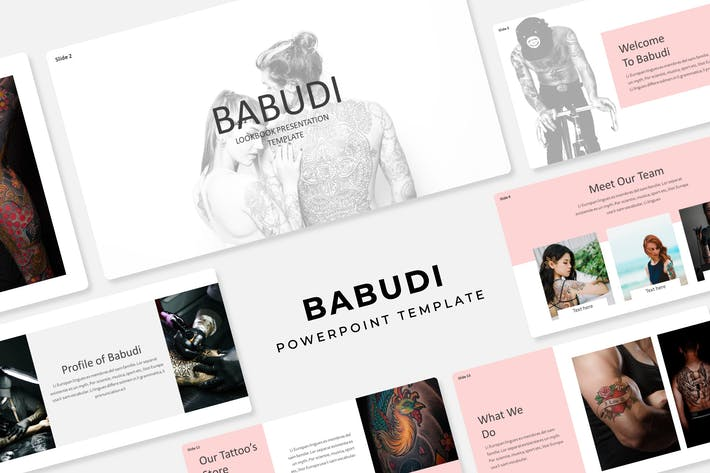 Babudi - PowerPoint Template