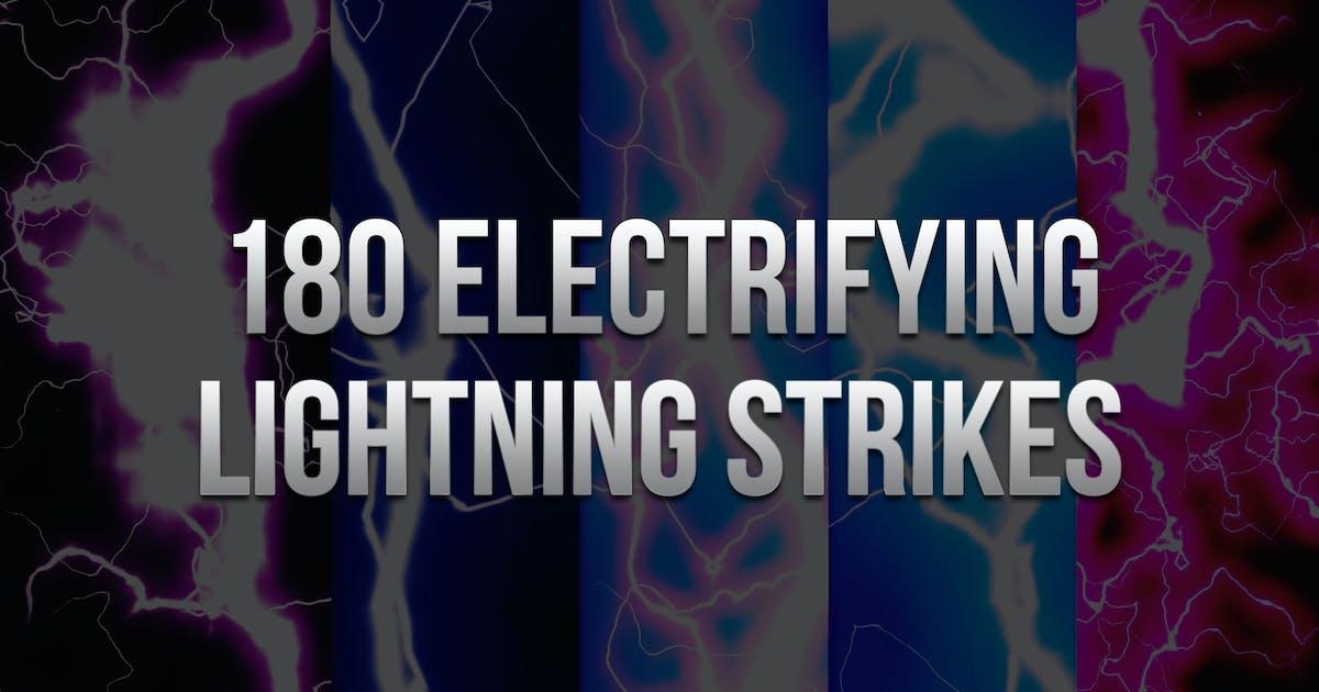 180 Electrifying Lightning Strikes by sparklestock