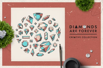 Diamonds are Forever // Shapes
