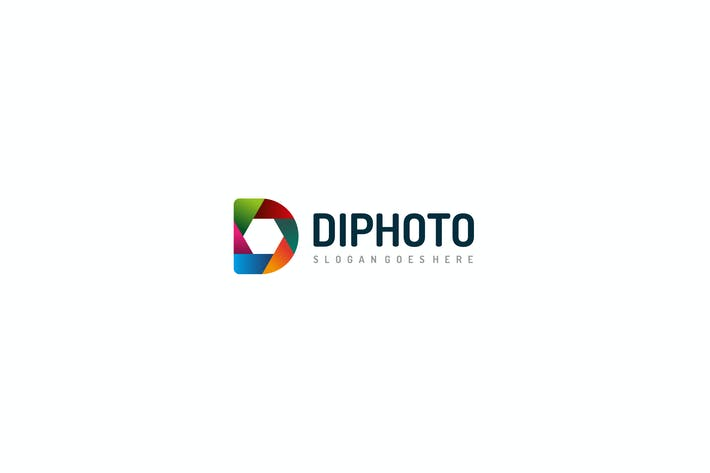 Thumbnail for D Логотип фотографии буквы
