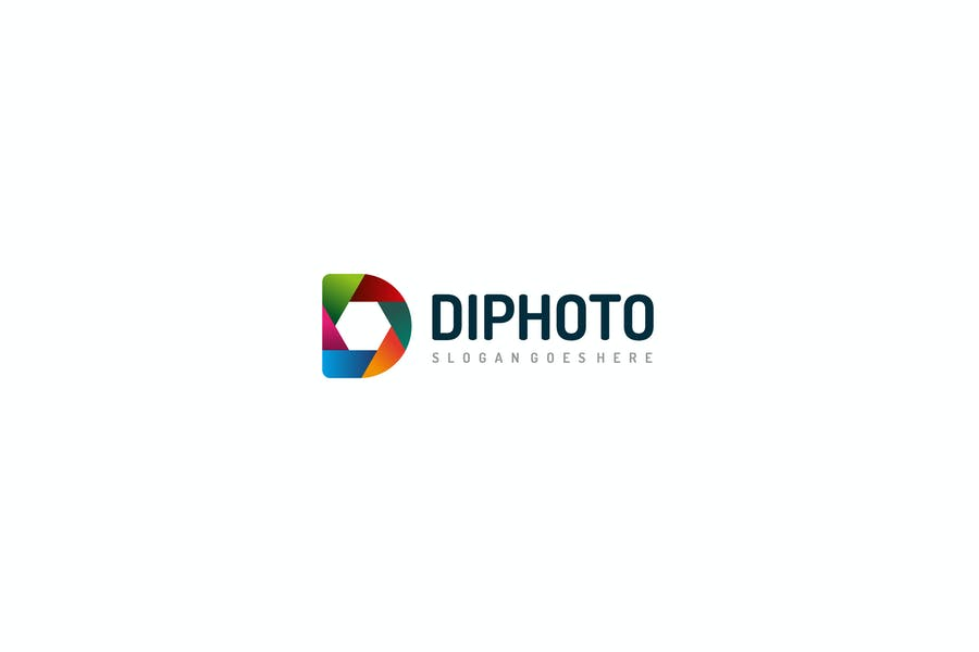 D Letter Photography Logo