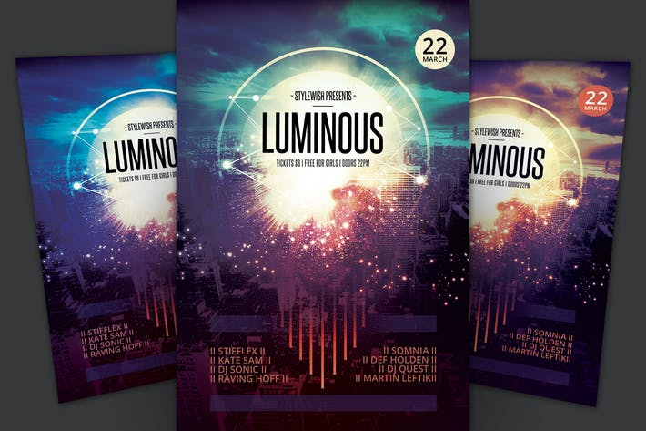 Cover Image For Luminous Flyer