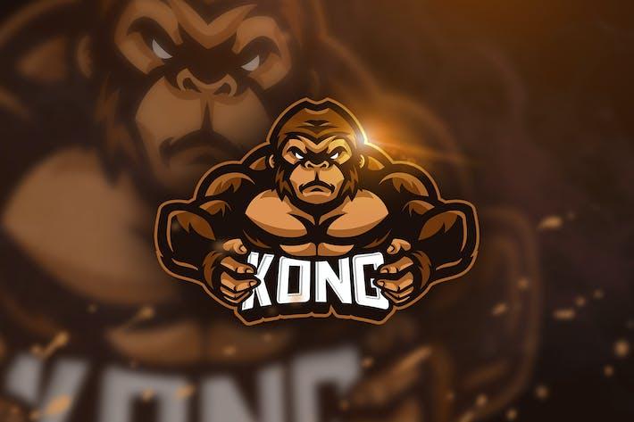 Thumbnail for Kong - Mascot & Esport Logo