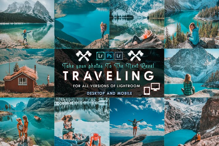 Thumbnail for Travel Lightroom Presets ( Mobile & Desktop )