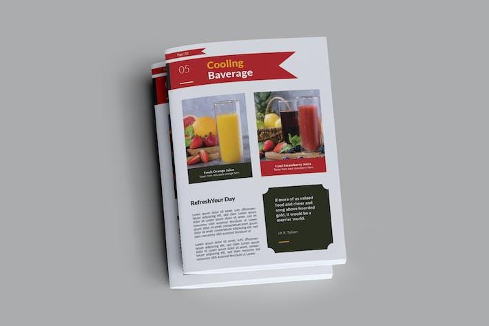 Brochure du restaurant délicieux