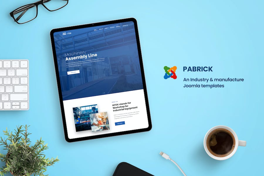 Pabrick - Industry and Manufacture Joomla Template