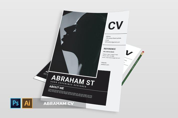 Thumbnail for Abraham | CV & Resume