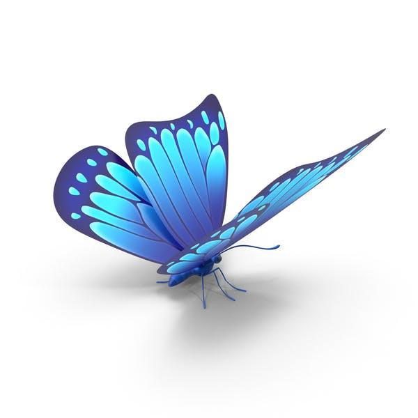 Thumbnail for Голубая бабочка