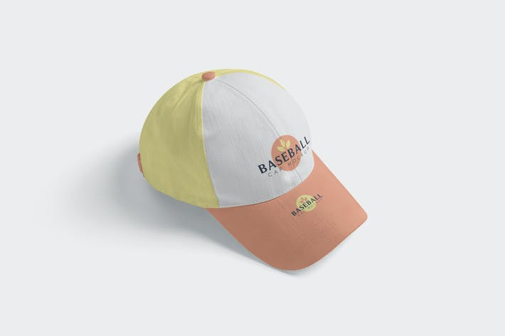Thumbnail for 4 Baseball Cap Mockups