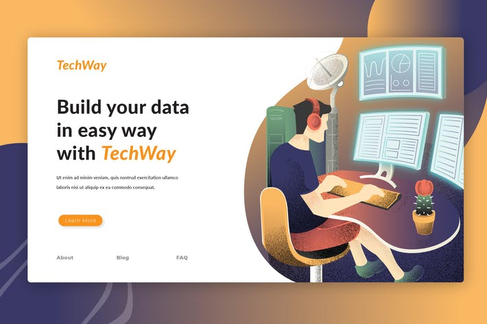 Cover Image For Data Analysts - Landing Page