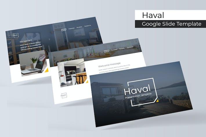 Cover Image For Haval - Google Slides Template