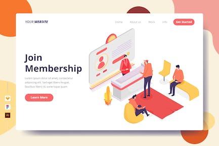 Join Membership - Landing Page