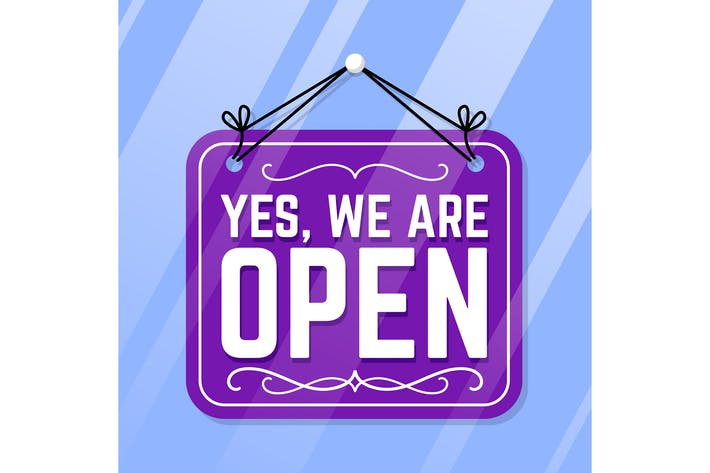 Thumbnail for Yes We Are Open