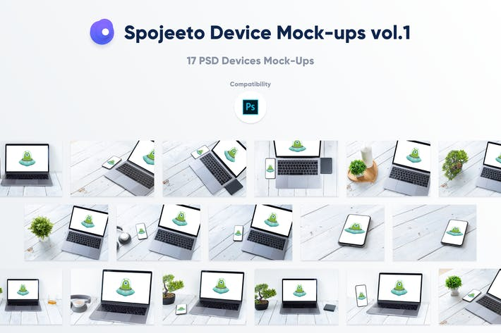 Thumbnail for Spojeeto Device Mock-ups vol.1