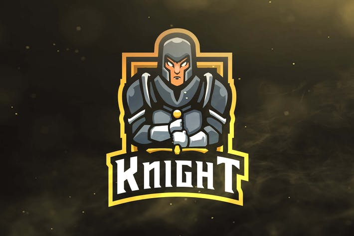Thumbnail for Knight Sport and Esports Logos