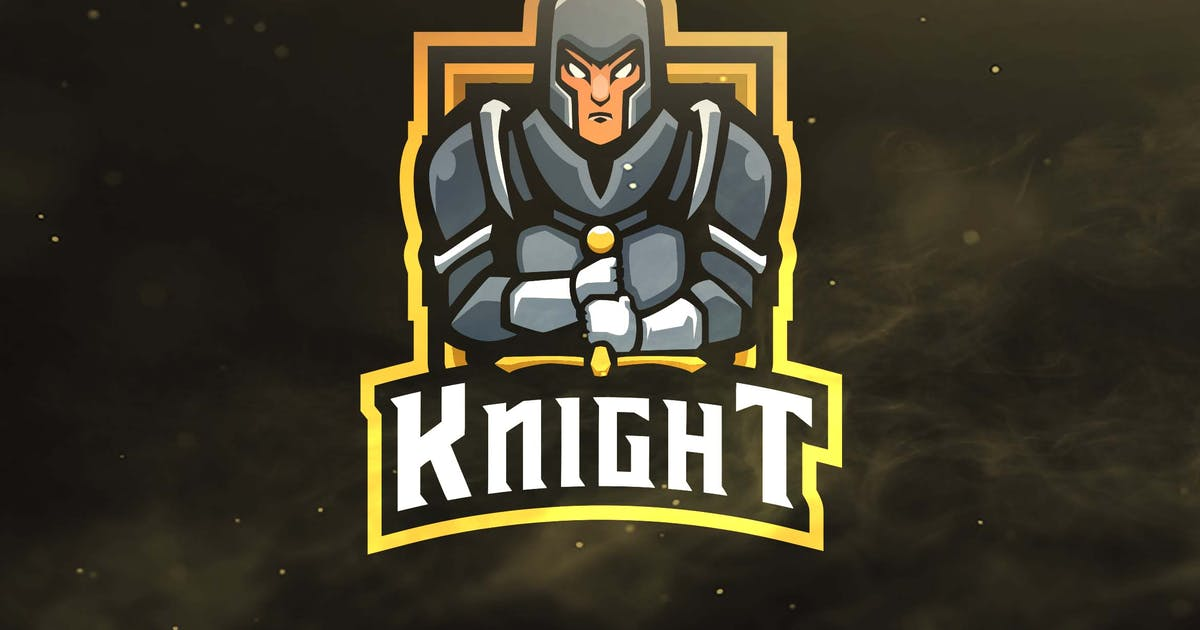 Knight Sport and Esports Logos by ovozdigital