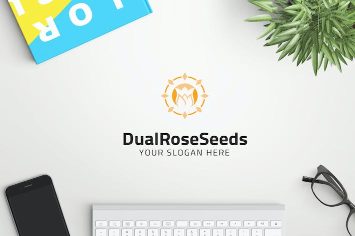 Thumbnail for DualRoseSeeds professional logo