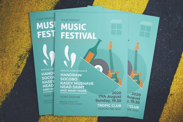 Thumbnail for Music Fest Flyer