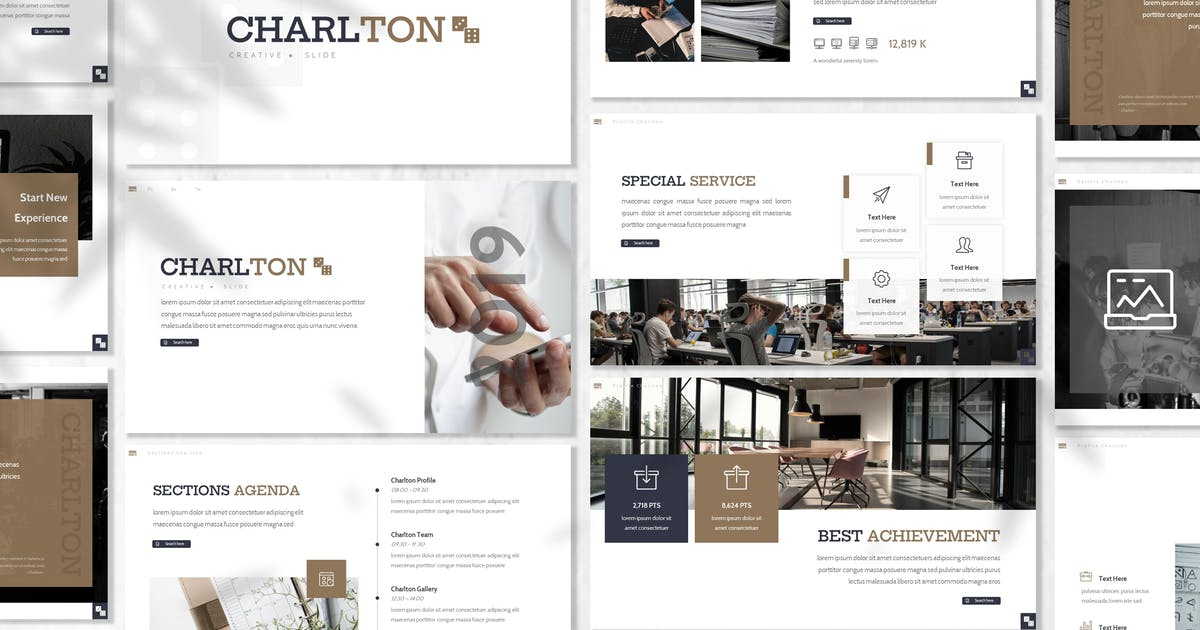 Download Charlton - Business Powerpoint Template by designesto