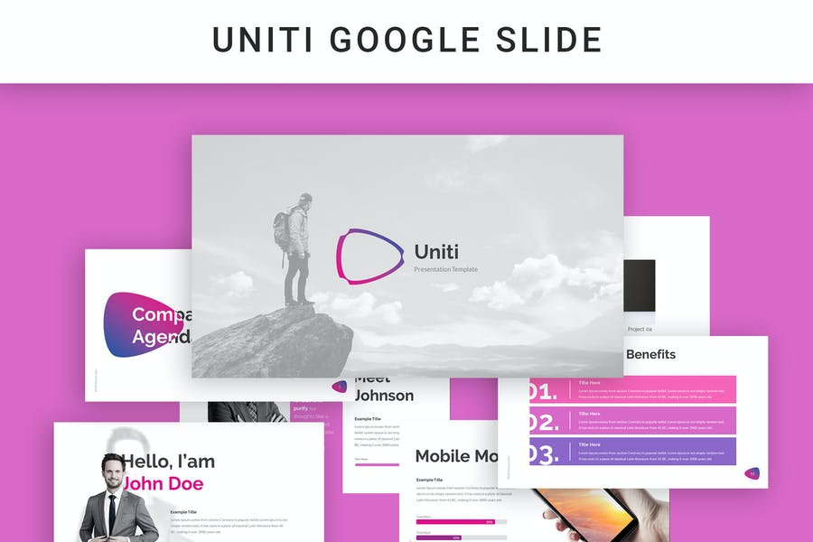 Uniti Google Slide