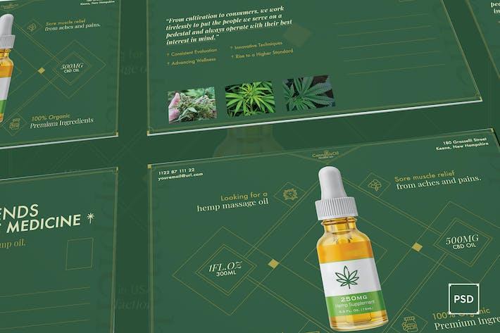 Thumbnail for Cannabis Hemp Oil Postcard